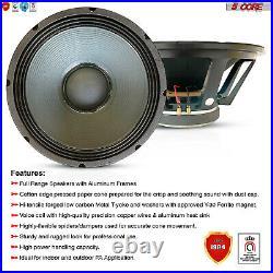 18 inch Subwoofer Replacement DJ Speaker 5Core 18-220 17 AL