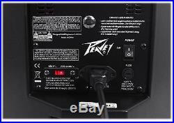 (2) Peavey DM 112 12 1000W Active Powered PA Speakers+Digital DSP