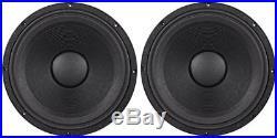 2 Peavey Low Rider Black Widow 18 3200With800W 4 Ohm DJ Sub Subwoofer Raw Driver