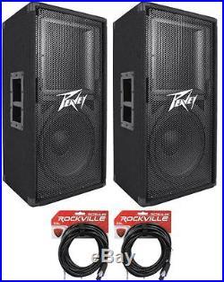 "Peavey Pv112 Pro DJ Single 12/"" 800W Passive Speaker /& Speakon To 1//4/"" Cable New"