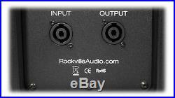 2 Rockville SPGN108 10 Passive 800W DJ PA Speakers ABS Lightweight Cabinet 8ohm