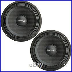 2 pcs Beyma 8MFE 8 100 Watt-RMS each Mid-Bass/Midrange Speakers 8M/FE Midbass