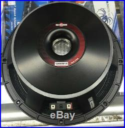 2x B&C 12MH801 12 MidBass 1600W Pro Audio Replacement Speaker Woofer 8-Ohm PAIR