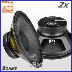 2x PRV Audio 12W750A Mid Range ALTO Car Stereo 12 Speaker 8 ohm 12A PRO 1500W