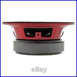 4 DS18 PRO-X8M 8 Midrange Loud Speakers 2200 Watt 8 ohm Mid Bass Loudspeakers