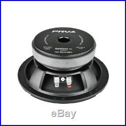 4x 6 Full Range Mid Bass Loud Speaker 8 Ohm 6MB200V2 800 Watts PRV Audio