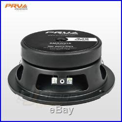 4x PRV Audio 6MR200A Mid Range ALTO Car Stereo 6.5 Speaker 8 ohm 6MR PRO 800W