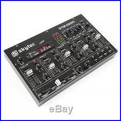 6-kanal Bluetooth Mp3 Usb Sd Dj Mixer Pa Studio Bühnen Party Musik Mischpult