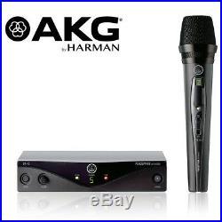 AKG Harman WMS45 Perception Wireless Microphone Vocal Set A 3251H00010 Open Box