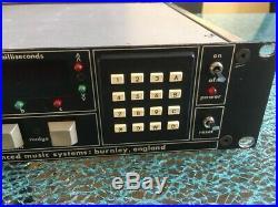 AMS DMX15-80s Vintage Digital Reverb from Trevor Horn SARM Studio