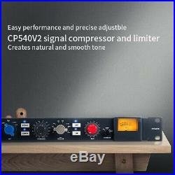 Alctron CP540V2 Professional Studio Compressor V2 Signal Limiter Single Channel