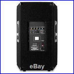 Altoparlante Cassa Attiva Dj Pa 38Cm 15 Monitor Palco Diffusore Audio Impianti