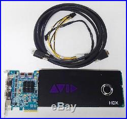 Avid Used Pro Tools HDX PCIe Card with 12' Digilink cable