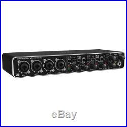 Behringer UMC404HD U-PHORIA 4x4 Audio Interface USB MIDI SoundCard Mic Pre-Amp