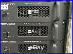 CREST AUDIO PRO 9200 PROFESSIONAL POWER AMPLIFIER WithPOWER CORD #6672 (ONE)