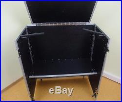 DJ-Tisch zusammenklappbar Werbestand Portabler DJ-Tisch Case Info Desk NEU