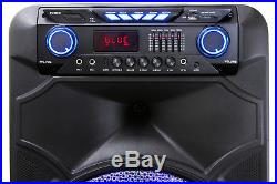 Dolphin 2100W Rechargeable 15 Bluetooth Tailgate Speaker with LED's SP-1500RBT