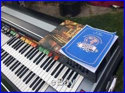 Elka X705 Space Organ Jean Michel Jarre actual in mint condition