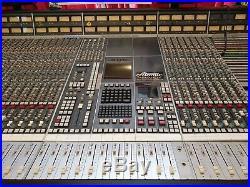 FAMOUS 32 Channel SSL SL 6000 E BBC Maida Vale Mixing Console Nirvana Desk G G+