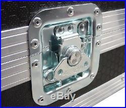Fender Hot Rod Deluxe Combo Amp Swan Flight Case (Hex) On Wheels Design