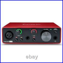 Focusrite Scarlett Solo Studio (3rd Gen) USB Audio Interface Recording Bundle