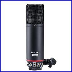 Focusrite Scarlett Solo Studio 3rd Gen USB Audio Interface & Recording Bundle