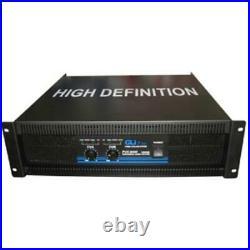 Gli Pro PVX9000 19 Rack Mountable 500 x 2 @ 4 ohms stereo and 900 x 1 mono 2