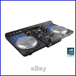 HERCULES UNIVERSAL DJ 2 DECK USB / BLUETOOTH DJ CONTROLLER Authorized Dealer