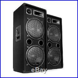 Impianto Audio Coppia Casse Passive Altoparlanti Passivi 3 Vie Subwoofer 1000 W