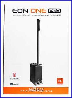 JBL EON ONE PRO Rechargeable, Compact Powered PA Array Speaker+Subwoofer System