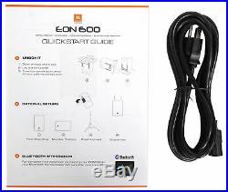 JBL EON610 10 1000 Watt Powered DJ PA Speaker System withBluetooth Connectivity