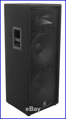 JBL JRX225 Dual 15 Professional 2000 Watt Passive DJ/PA Speaker 4 Ohm JRX 225