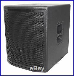JBL Pro PRX815XLFW 15 1500w Powered Subwoofer Active Sub with WIFI + Mobile App