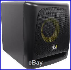 KRK 8S v2 8 109w Powered Studio Subwoofer withClass D Amplifier In MDF Enclosure