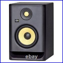 KRK Rokit RP5G4 5 Powered Studio Monitor Speakers w Professional Condenser Mic