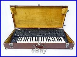 Korg DELTA DL-50 Vintage Analog Synthesizer with Hard Case & Cover RARE AS IS