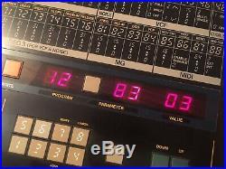 Korg EX800 Analogue 80s Poly Synth, Modded, Moog Slayer Hawk800