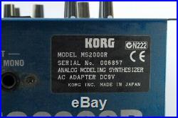 Korg MS2000R Analog Modeling Synthesizer