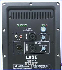 LASE VRX 615-AB with DSP Power Amplifier Convert Your Passive to Active Spealer