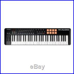 M-Audio Oxygen 61 V4 MK4 MIDI USB Keyboard Controller Inc Live Lite Inc Warranty