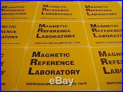 MRL 1 NEW proaudio test tape for Ampex, Studer, Otari