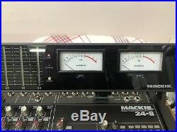 Mackie 248 24-Channel 8-Bus Mixing Desk with Meter Bridge