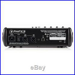 Mackie ProFX8v2 Professional 8 Channel USB Studio Live Sound Mixer / Mixing Desk