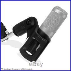 Mic Microphone Stand Suspension Boom Scissor Arm Holder Studio Broadcast Desktop