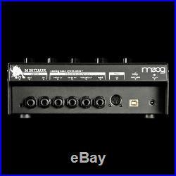 Moog Minitaur Analog Bass Monosynth Module Black