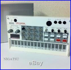 NEW KORG digital sample sequencer volca sample Vuoruka samples from JAPAN