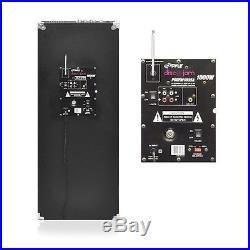 NEW Pyle PSUFM1035A 1000W BLUETOOTH Powered Speaker System USB/AUX & DJ Lights