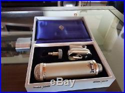 Neumann Gefell CMV 563 Vintage Tube Microphone Mikrofon + M55K Capsule