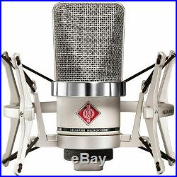 Neumann TLM 102 Studio Set (Nickel) Diaphragm Condenser Cardioid Microphone