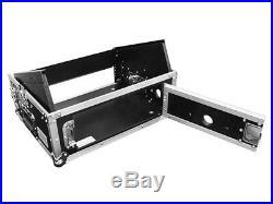 Odyssey FR0802 Flight Ready Combo Rack Case with 8U/2U Space & Removable Lid
